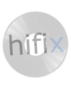 Art Vinyl Play and Display Record Flip Frame - White