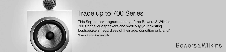 B&W 700 Series Trade In