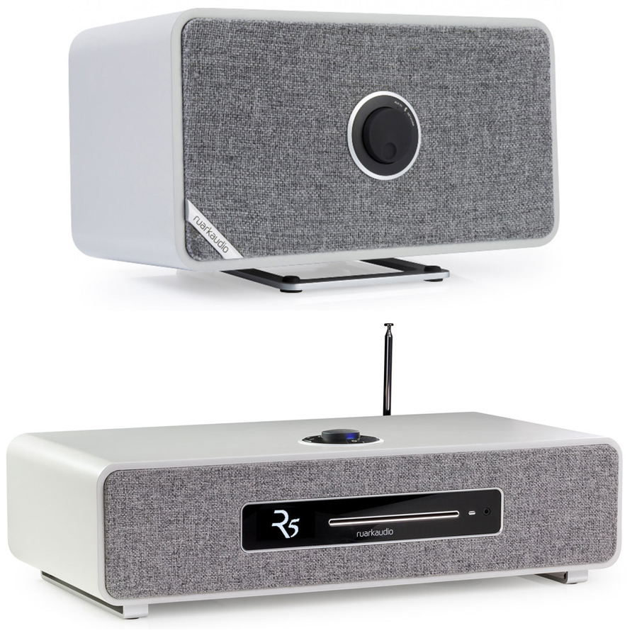 Ruark Audio R5 Music System + MRx Wireless Speaker Cool Grey