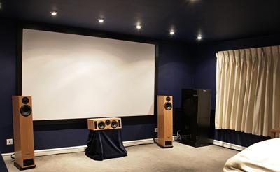 Home Cinema Screen Size