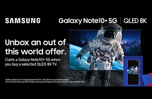 2019 Samsung 8K Note 10 Promo