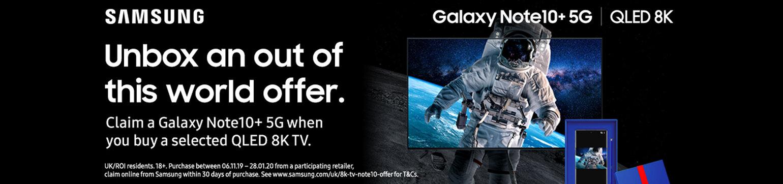 Samsung 8K TV Free Samsung S10 5G