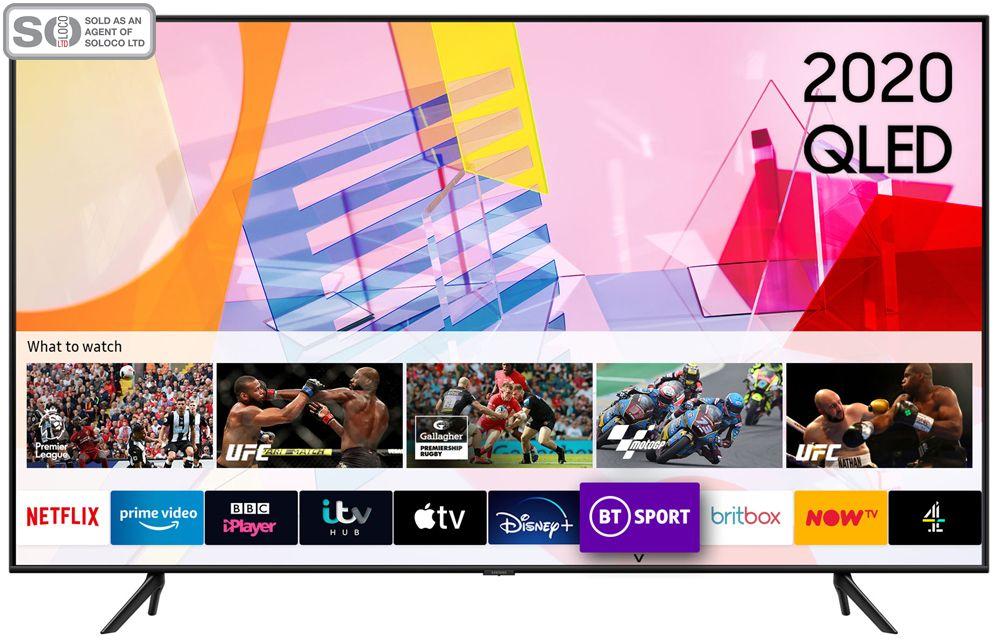 Samsung QE43Q60T 43 Inch QLED 4K Ultra HD HDR Smart Television