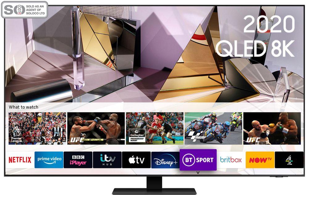 Samsung QE55Q700T 55 Inch QLED 8K Ultra HD HDR Smart Television