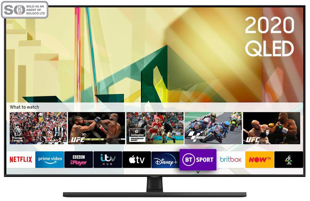 Samsung QE55Q70T 55 Inch QLED 4K Ultra HD HDR Smart Television