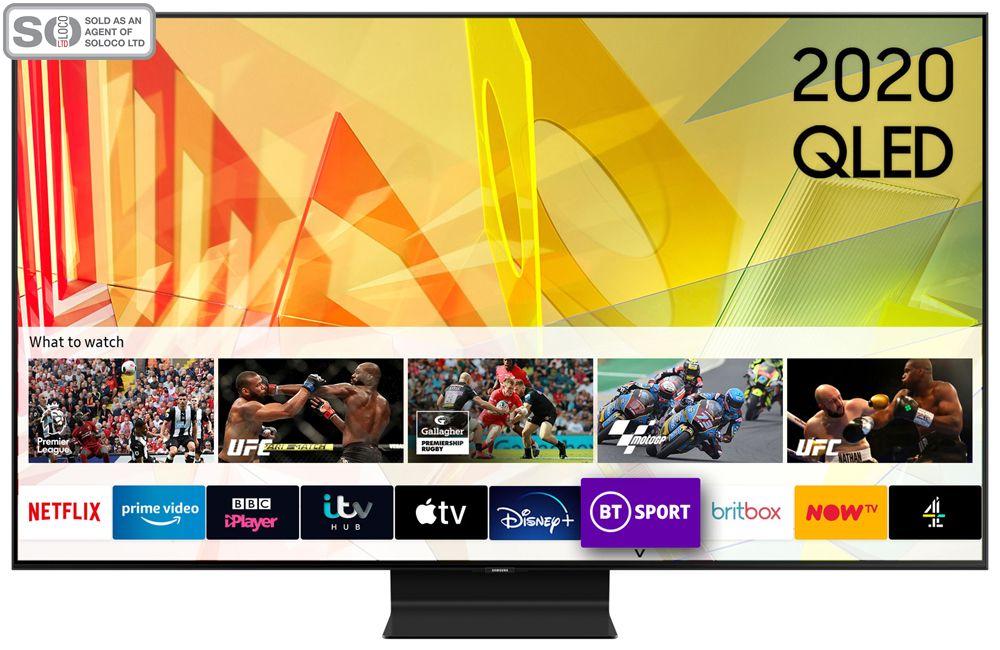 Samsung QE55Q90T 55 Inch QLED 4K Ultra HD HDR Smart Television