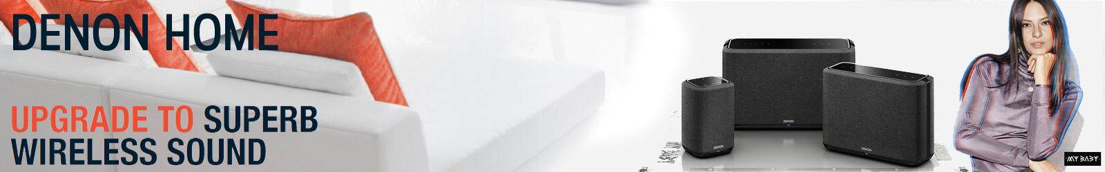 Denon Home Wireless Speakers Banner