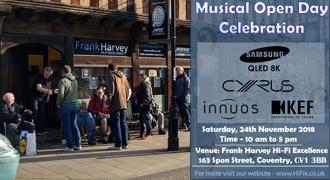 Musical Open Day Celebration at Frank Harvey