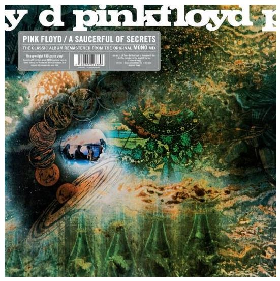 Pink Floyd - Saucerful Of Secrets, Mono Mix Vinyl (RSD 2019) sku 45780
