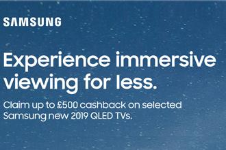 Samsung Cashback Promotion