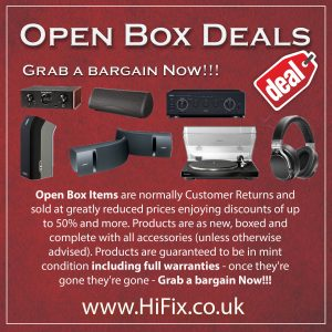 BEST OPEN BOX DEALS HIFIX