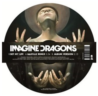 Imagine dragons picture disc