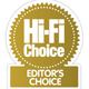Hi Fi Choice Editors Choice