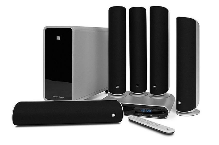 kef 5.1 speaker system wall mounted